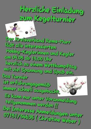 2015-04-15 Kegelturnier