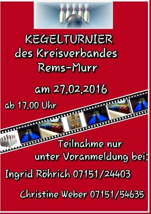 2016-02-07 Kegelturnier